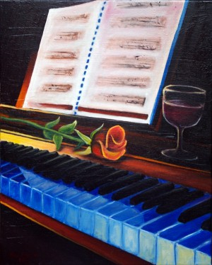 PIANO BLUES by Ana Rincon