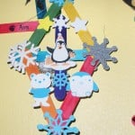 This popsicle ornament features all sorts of winter-loving critters. Village Life photo by Noel Stack