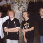 JAXX is, left to right, Kyle Maxwell, Jack Petterle, Nikkos Savas and Alan Petterle. Courtesy photo