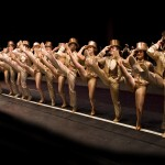 "THREE STAGES AT FOLSOM LAKE COLLEGE opens Feb. 11 with the touring production of ""A Chorus Line."" Photo by Phil Martin"
