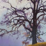 "THE 2010 Fall Show'€™s People'€™s Choice winning painting, ""Winter Oak""€ by Thaleia Georgiades."