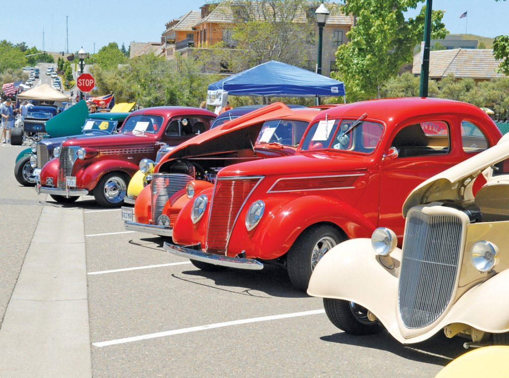 THE CLASSICS will again be on dispaly at the Fallen Warriors car show at Town Center May 28. Village Life file photo by Pat Dollins