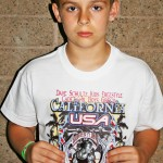 KADEN WEST took second place at the the Dave Schultz Kids Freestyle State Tournament. Courtesy photo