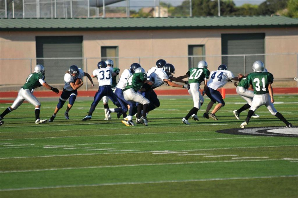 The freshman football team dismantled the Granite Bay Grizzlies Thursday evening. Courtesy photo