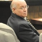 Steven Mittelman sits in court during the first day of his trial.