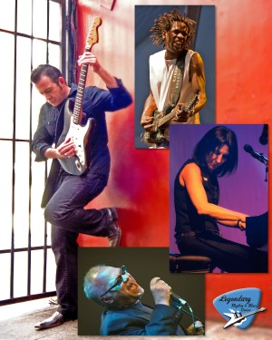 Tommy Castor and friends bring their own blues styles to Three Stages on Oct. 21. Courtesy graphic