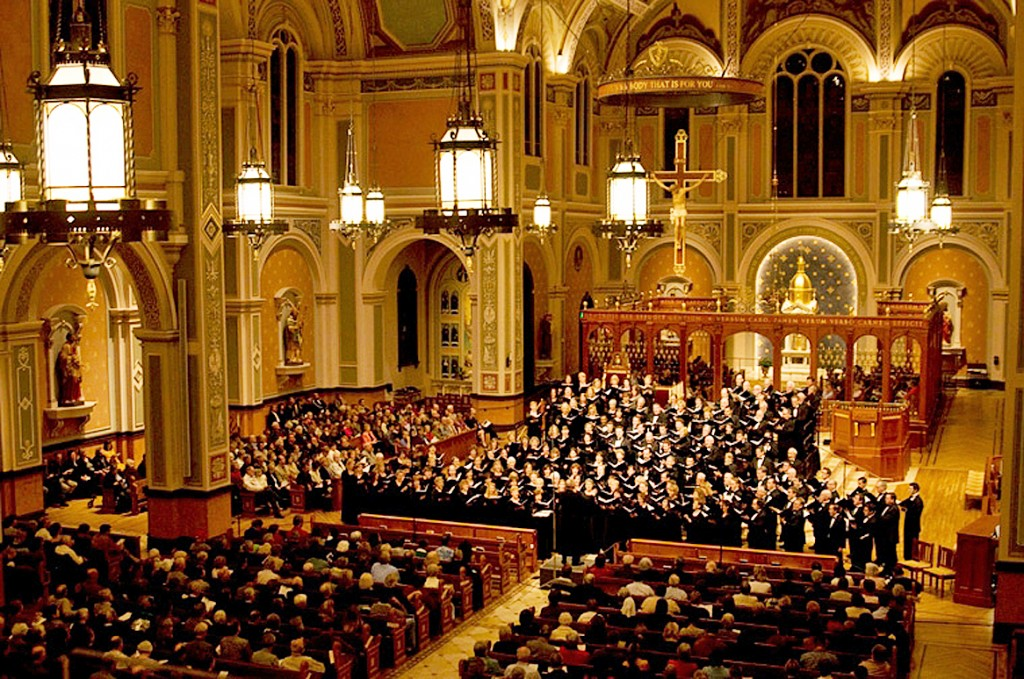 Canticles of Praise will be performed by the Sacramento Choral Society & Orchestra at the Cathedral of the Blessed Sacrament in Sacramento on Oct. 29 & 30. Photo courtesy of Sacramento Choral Society & Orchestra