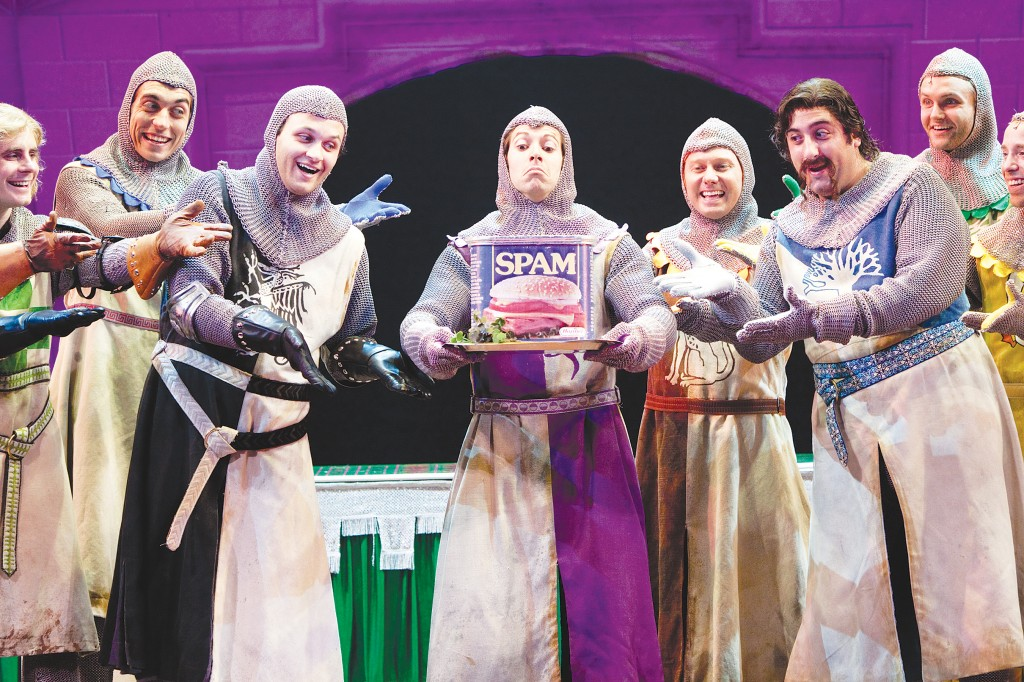 "And now for something completely different — ""Spamalot"" puts an entertaining twist on the classic King Arthut legend. The audience won't beleive the adventures these knights have while on a quest for the Holy Grail. Courtesy photo"