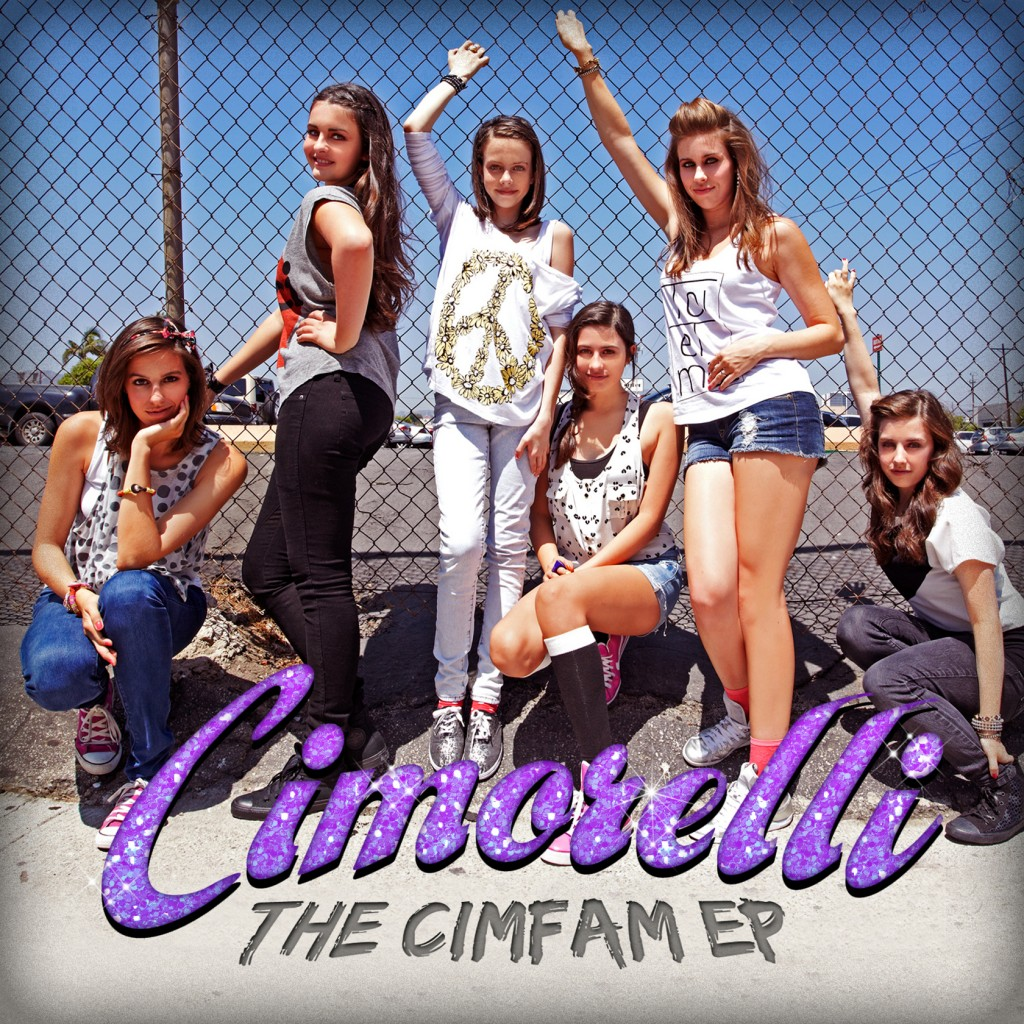 """The CimFam EP,"" released on Dec. 4 debuted at No. 6 on iTunes U.S. Pop Chart and No. 22 on the overall iTunes album chart. Sisters Christina, Katherine, Lisa, Amy, Lauren and Dani grew up in El Dorado Hills."
