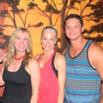 Sheri Napear, Kim Vanacore and Derek Vanacore, left to right, recently opened Radiant Yoga upstairs in the El Dorado Hills Sports Club in Town Center. Village Life photo by Noel Stack