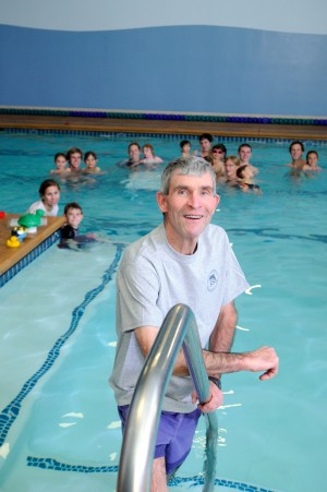 For 30 years Steve Wallen has studied and practiced the best methods for teaching his students how to swim. He's currently expanding his El Dorado Hills swim school. Courtesy photo