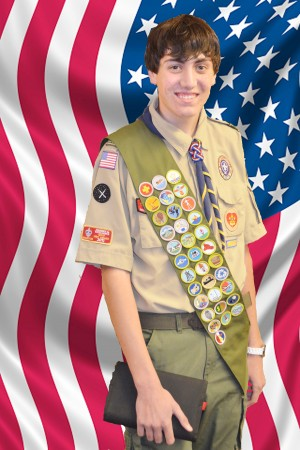 Eagle Scout Matthew Wollert