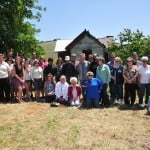 Clarksville descendants gather for a group photo on Clarksville Day. Village Life photo by Pat Dollins
