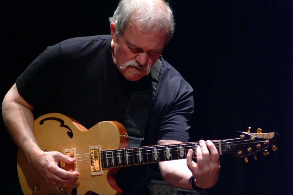 John Abercrombie's Organ Trio performa at Three Stages. Courtesy photo