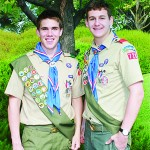 Cousins from Troop 728 Steven Cooper, left, and Nathan Padilla have earned the rank of Eagle Scout. Courtesy photo