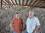 Josh, left, and Bob Lilly have a plan to turn old carpet into water filtration. They operate out of the old Westel-Oviatt lumber mill south of El Dorado Hills. Village Life photo by Mike Roberts