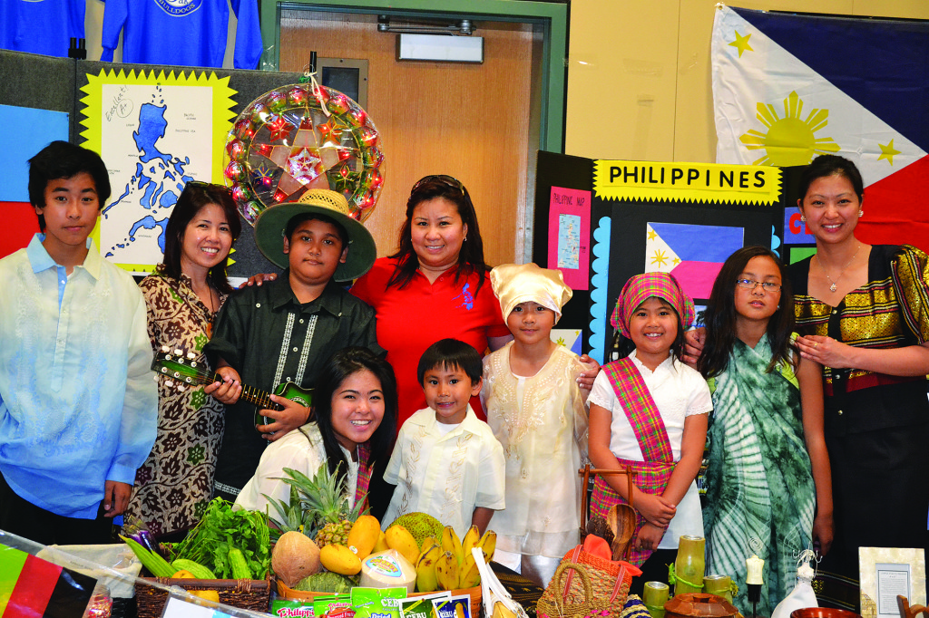 The Philippines were represented by Tony Varela, Mary Anne Lee, Charles Boquiron, Alyanna Lee, Cheyrl Alega, Roman Felipe, Marcele Felipe, Alyxxa Lee, Gabrielle Cazeres and Emma Bernalvez, left to right. Photo by Julie Samrick