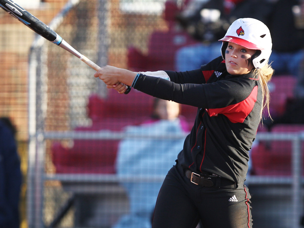 Fresh off playing for the University of Louisville, Oak Ridge alum Alicja Wolny flew to England to play for the Great Britain Women's International softball team. Courtesy photo