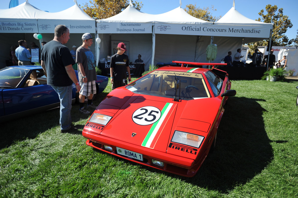 The Lamborghini, Porsche 911 and Rolls-Royce will take center stage at the Concourse at Serrano Sunday. File photo by Krysten Kellum