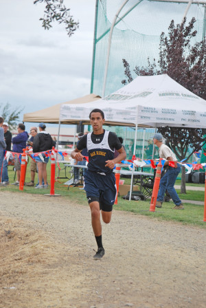 Oak Ridge senior Adrian Griffith took first place in his 5,000-meter race with a time of 19:43. Courtesy photo