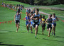 Oak Ridge freshman Luke Bricca leads a pack of runners at the Stanford Invitational. Courtesy photo