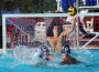 Varsity Trojan goalee Kasian Strawick makes a save in last week's game against Ponderosa. Oak Ridge beat its intra-county rival 10-5. Village Life photo by Shelly Thorene