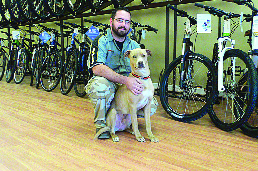 Bicycle Guys Casey and Corbin specialize in mountain bike sales, maintenance and service at 2201 Francisco Drive, Suite 130, in El Dorado Hills. Photo by Roberta Long