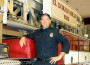 El Dorado Hills Engineer/Paramedic Rob Karnow was recently named Firefighter of the Year. Village Life photo by Noel Stack