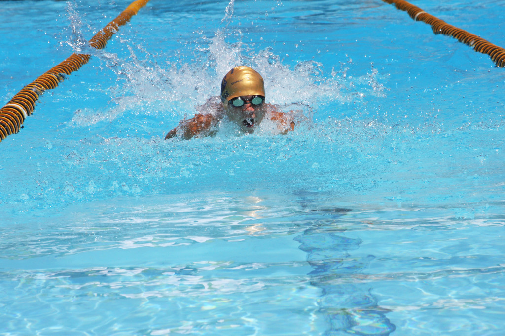 Taz swimmer JT Ross, 12, competes at Saturday's swim meet. The Taz have a perfect record so far this season and will next face the Gators on July 12. Courtesy photo