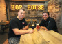 Stop by Hop House and enjoy a craft beer with owner Jason Enyeart, left, and chef Tyler Mort. The restaurant is open in El Dorado Hills Town Center. Village Life photo by Pat Dollins