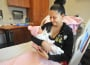 "Tania Valdez of Camino holds her newborn Melani Pelayo close at Marshall Hospital. Melani, born Jan. 18, spent the majority of her first hours of life ""rooming in"" where babies stay in the hospital room with mom to encourage skin-to-skin contact, another baby-friendly practice. Village Life photo by Krysten Kellum"