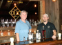 Dry Diggings Distillery owners Cris Steller, left, and Gordon Helm recently opened their craft distillery in El Dorado Hills. Village Life photo by Noel Stack